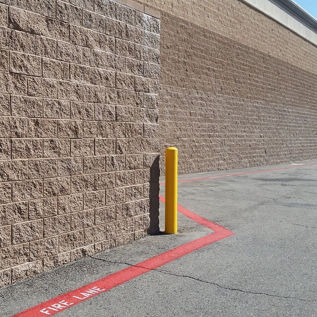 Bollards are stumpy concrete posts meant to prevent cars fromhellip