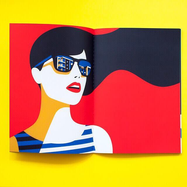 The art starts with shapes Big shapes illustrator Malika Favrehellip